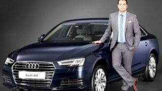 Audi A4 diesel sedan launched; price in India INR 40.20 lakh