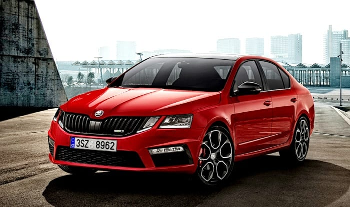 fastest ever skoda octavia rs 245 revealed ahead of geneva motor show 2017 debut. Black Bedroom Furniture Sets. Home Design Ideas