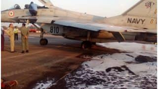MiG-29 makes emergency landing at Mangalore Airport after hydraulic failure