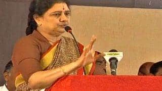 Sasikala Natarajan's disproportionate asset case verdict likely today at 10.30 am