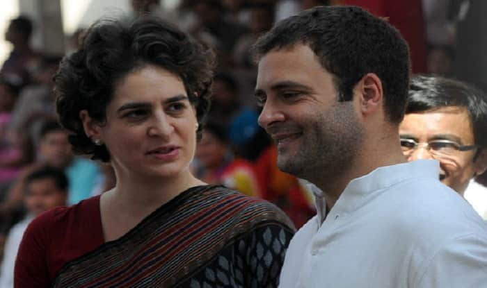 Priyanka Gandhi address public rally in Rae Bareli