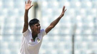 Injured Mustafizur Rahman Left Out of Bangladesh Squad For West Indies Tests