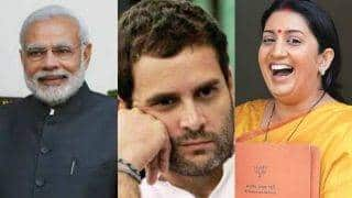 Rahul Gandhi's version of SCAM invites backlash from Smriti Irani and Twitterati