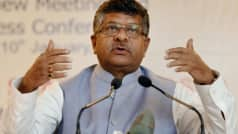 After US Blow to Net Neutrality, Ravi Shankar Prasad Reinforces India's Stand