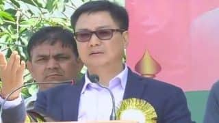 Remark aimed at the Leftists: Kiren Rijiju on row over student