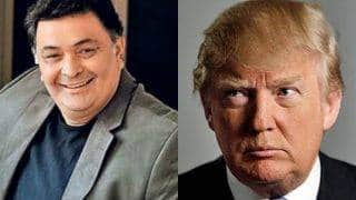 Does Donald Trump copy Dev Anand? Rishi Kapoor think so!