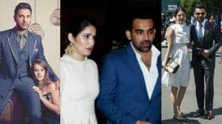 Sagarika Ghatge confirms dating Zaheer Khan: 11 other Bollywood actresses who have dated cricketers!