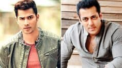 Varun Dhawan is NOT scared to be compared with Salman Khan