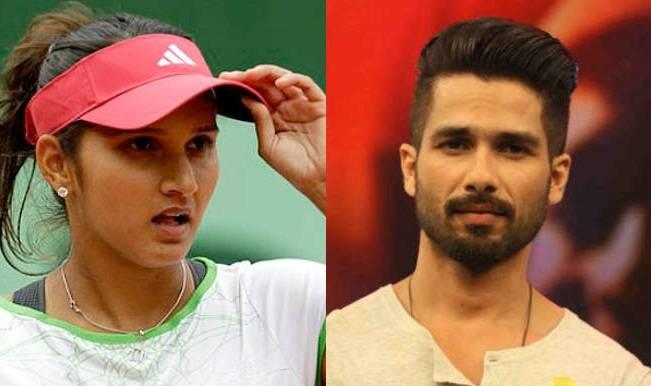 shahid kapoor and sania mirza dating