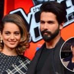 Rangoon star Shahid Kapoor slams Kangana Ranaut's comment on comparing him with Hrithik Roshan in the best way possible