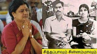 Sasikala Natrajan Old Pic goes viral: Tamil Nadu CM aspirant is posing with husband