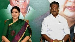 RK Nagar Bypoll: Election Commission to take decision on Sasikala Natarajan vs O. Panneerselvam battle for AIADMK party symbol today