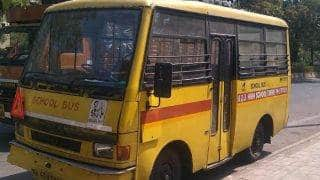 Ghaziabad: Five-Year-Old Girl Crushed by School Bus