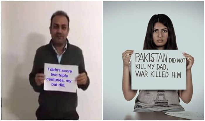 Virendra Sehwag evades questions on Gurmehar Kaur after trolling her on social media (Watch Video)