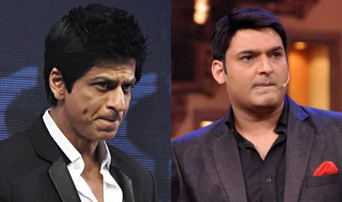 Shah Rukh Khan and Kapil Sharma