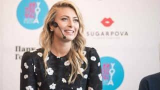 Haven't thought about 2020 Olympics, focussed on comeback: Maria Sharapova