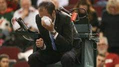 Umpire hit by ball during Davis Cup tie undergoes surgery