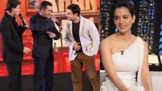 Was Kangana Ranaut's declaration of NOT working with Shah Rukh, Salman and Aamir Khan a dig at Kareena Kapoor Khan?
