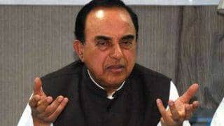 When AG, SG can practice law, why can't Navjot Singh Sidhu continue his TV career: Subramanian Swamy