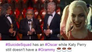Oscars 2017: Suicide Squad won the Academy Award for Best Makeup and Hairstyling, Twitter came up with the best jokes and memes!