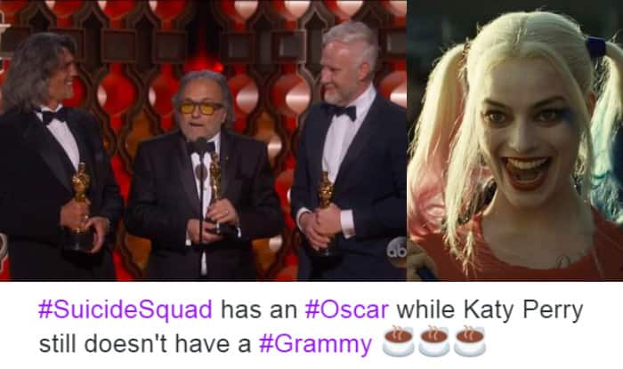 Oscars 2017: Suicide Squad won the Academy Award for Best Makeup and ...