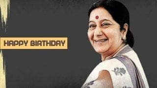Sushma Swaraj birthday special: Top 8 interesting facts about the External Affairs Minister of India