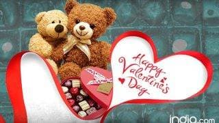 Valentine's Day 2017 Wishes: Best Romantic Quotes, SMS, Facebook Status & WhatsApp GIF image Messages to send Happy Valentines Day greetings!
