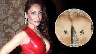 Sofia Hayat gets swastika tattoo on her feet and the INTERNET is boiling with RAGE