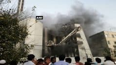 Delhi: Major fire breaks out in Times of India building, no casualties reported