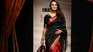 Lakme Fashion Week 2017: Preity Zinta looks resplendent as she walks the ramp for Sanjukta Dutta!