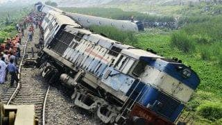 UP: Two Coaches of Goods Train Derail in Farukkhabad; Vehicle Guard Injured