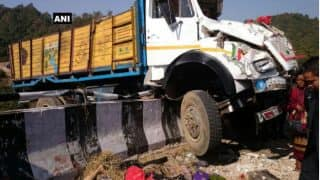 Andhra Pradesh: Truck runs into protesting farmers in Chittoor, 20 killed