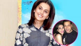 Did Taapsee Pannu just confirm that Salman Khan and Karisma Kapoor will be a part of Judwaa 2? Watch EXCLUSIVE interview here