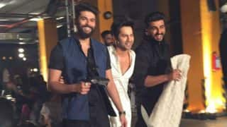 When Varun Dhawan and Arjun Kapoor upped the fun quotient at Lakme Fashion Week 2017 day 1!