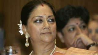 Vasundhara Raje Thanks Rajasthan Voters, as She Praises BJP Leadership