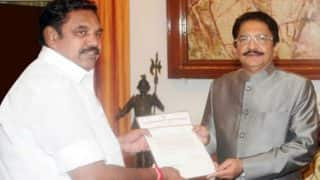 Governor C Vidyasagar Rao seeks 'factual report' a day after violence in Tamil Nadu Assembly