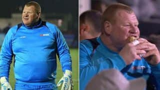 'Pie-eating' Sutton United keeper Wayne Shaw likely to face FA sanction