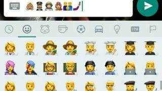 WhatsApp Android 7.1 Nougat emojis now released to Android beta users: Here's how to get them