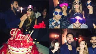 Yuvraj Singh's crazy birthday party for Hazel Keech is the right way of throwing the perfect bash for your wife (see INSIDE pics)