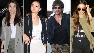 Celeb Airport Style This Week: Shah Rukh Khan, Alia Bhatt, Deepika Padukone, Anushka Sharma cause a stir on the runway with their fab styles!