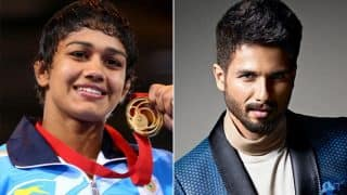 Shahid Kapoor and Babita Kumari Phogat's Twitter chat about Dangal 2 is the best thing you will read today!