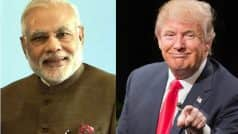 Donald Trump congratulates Narendra Modi over phone for his sweeping victory in Assembly elections