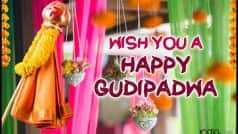Happy Gudi Padwa 2017: Best Wishes, Whatsapp Messages, Facebook Status, SMS & Gif Images to send Happy Gudi Padwa Greetings