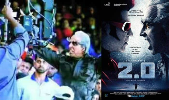 Rajinikanth's 2.0 film leaks fear make crew attack two photo-journalists! FIR lodged in media assault case