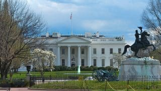 White House lockdown ends; suspicious package cleared; suspect in custody
