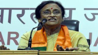 UP Election Results 2017: Rita Bahuguna Joshi wins from Lucknow Cantt; Aparna Yadav loses