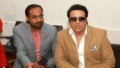 Actor Govinda questioned by Service Tax Department over Rs 60 lakh tax evasion