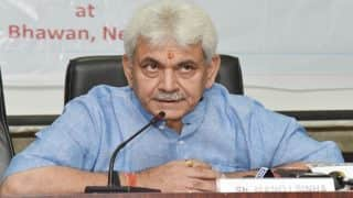 Manoj Sinha rules out his being in race for Uttar Pradesh chief minister post
