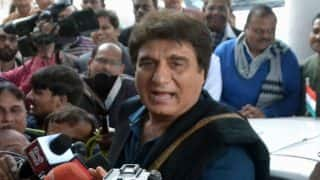 Post Congress' poor performance Raj Babbar offers to resign as party's Uttar Pradesh chief