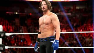 WWE showman AJ Styles loses his cool on co-owner Shane McMahon after a tough loss